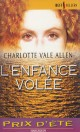 L'enfance volée par Charlotte Vale Allen