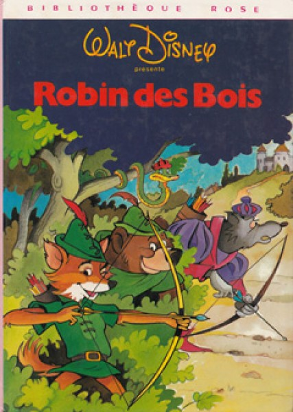 Robin des Bois de Walt Disney  Le chat bleu ~ Walt Disney Robin Des Bois