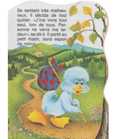 Collection « Mini silhouette » - Le vilain petit canard