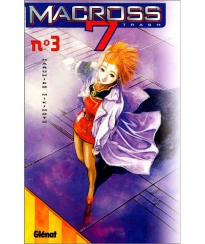 Manga de Haruhiko Mikimoto - Volume 3. Macross 7 trash