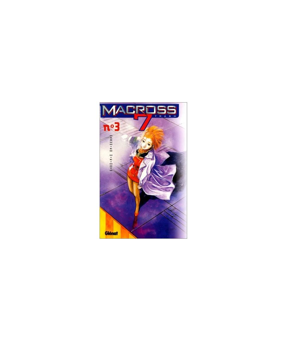 Volume 3. Macross 7 trash par Haruhiko Mikimoto