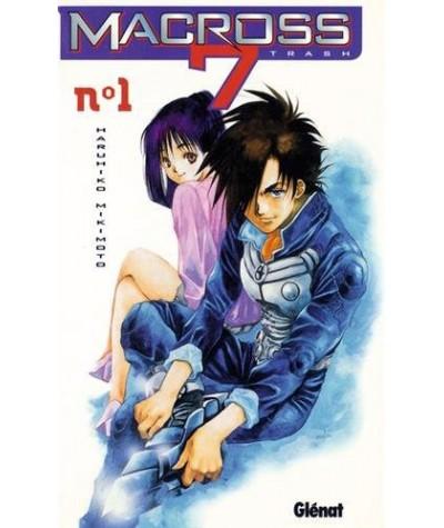 Manga de Haruhiko Mikimoto - Volume 1. Macross 7 trash