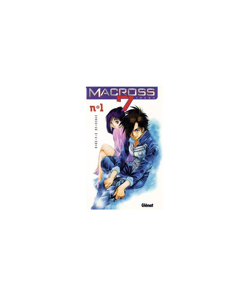 Volume 1. Macross 7 trash par Haruhiko Mikimoto