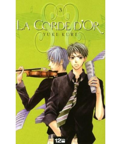 Manga de Yuki Kure - La Corde d'Or, Tome 3