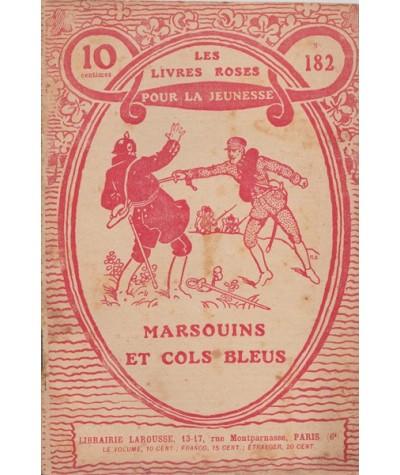 Les Livres Roses N° 182 - Marsouins et cols bleus par Charles Guyon