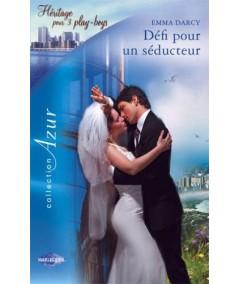 Harlequin Azur N° 2581 - Défi pour un séducteur par Emma Darcy - Héritage pour 3 play-boys
