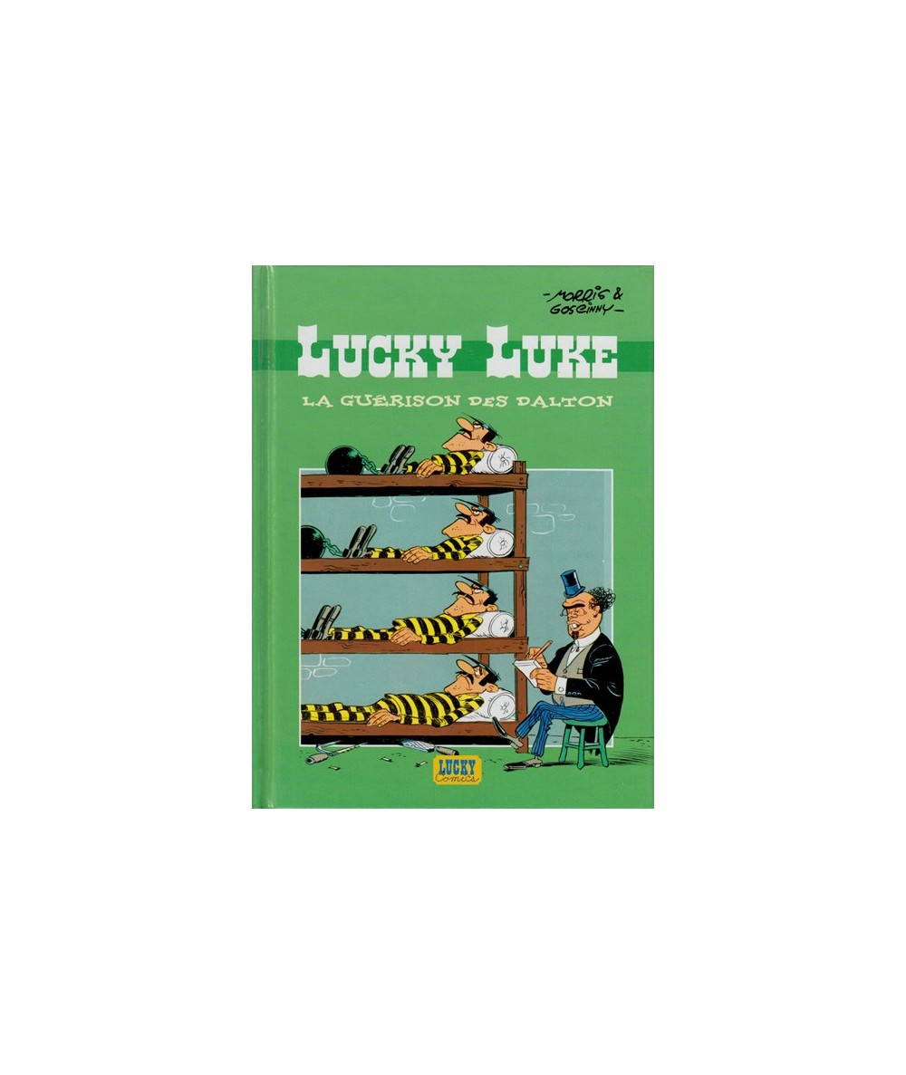 LUCKY LUKE La guérison des Dalton par Morris et René Goscinny - BD Publicitaire pour Total