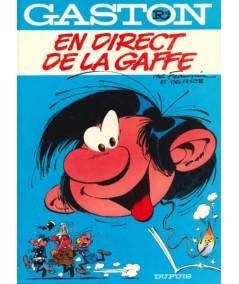 Tome R4 - Gaston : En direct de la Gaffe par André Franquin
