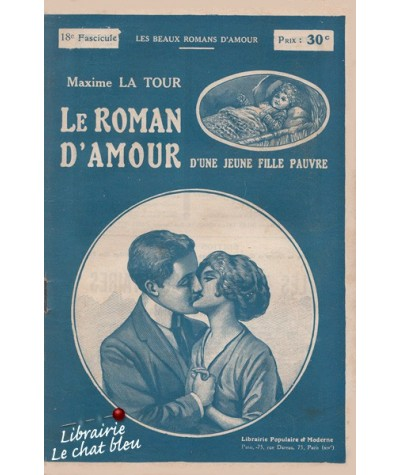 50 fascicules - Le roman d'amour d'une jeune fille pauvre par Maxime La Tour