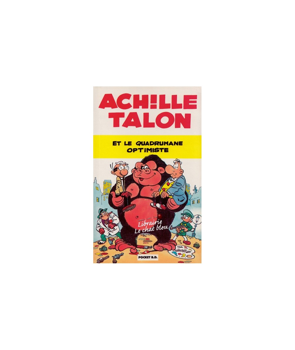 Achille talon et le quadrumane optimiste par Greg - Pocket BD