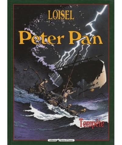 3. Tempête - Peter Pan par Régis Loisel