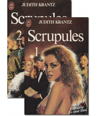 J'ai lu N° 1319 et 1320 - Scrupules par Judith Krantz - 2 tomes
