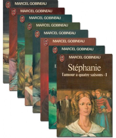 Stéphanie par Marcel Gobineau - Saga complète