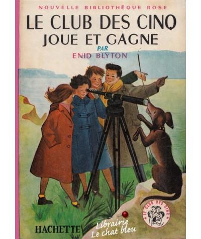 Bibliothèque Rose N° 34 - Le Club des Cinq joue et gagne par Enid Blyton