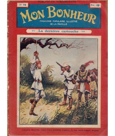 Mon Bonheur n° 14 - 4e année - Magazine populaire illustré de la famille