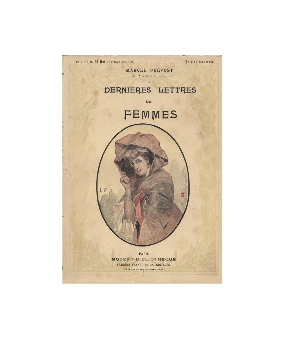 Dernières lettres de femmes par Marcel Prévost - Collection Modern-Bibliothèque