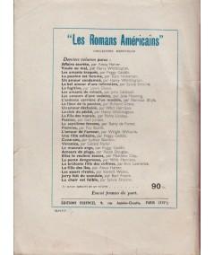 Les Romans Américains N° 50 - Le Chassé-croisé amoureux par Watkins E. Wright