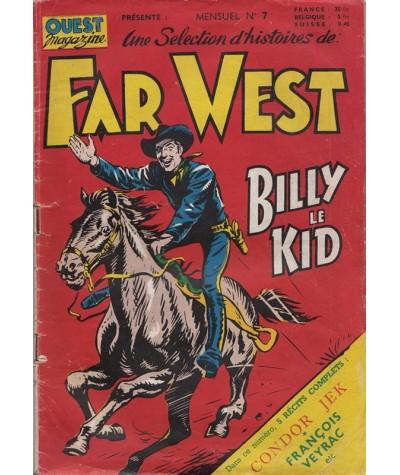 N° 7 - FAR WEST, Billy le Kid