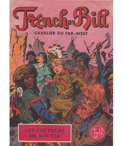 N° 12 - FRENCH-BILL, Cavalier du Far-West par Albert Bonneau