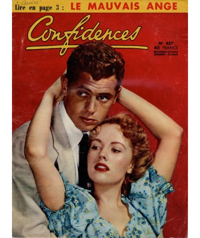 Revue Confidences n° 457