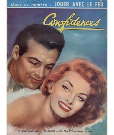 Revue Confidences n° 393