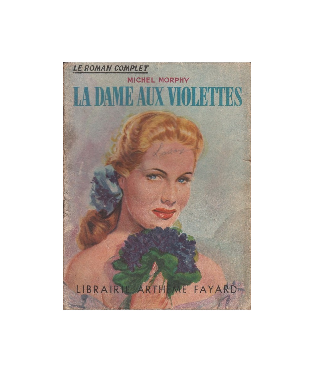 N° 6 - La dame aux violettes par Michel Morphy