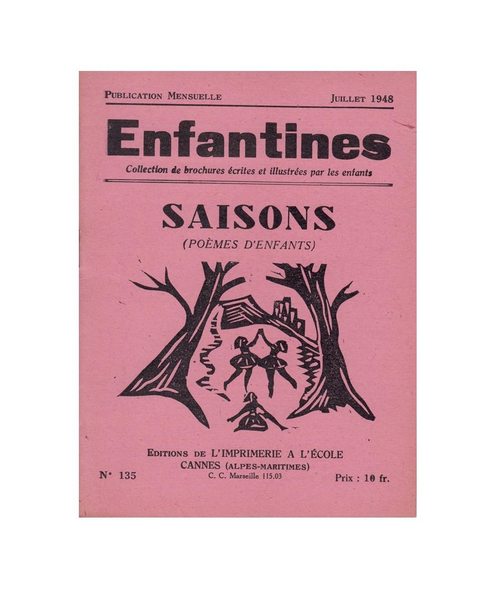 N° 135 - Saisons (poèmes d'enfants) - Collectif