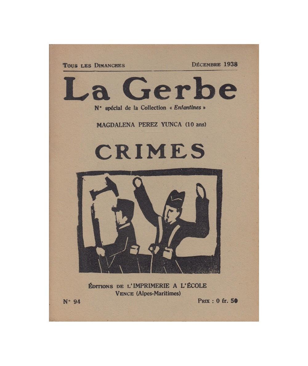 N° 94 - Crimes par Magdalena Perez Yunca