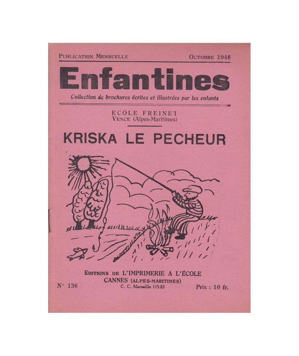 N° 136 - Kriska, le Pêcheur par les enfants de l'Ecole Freinet