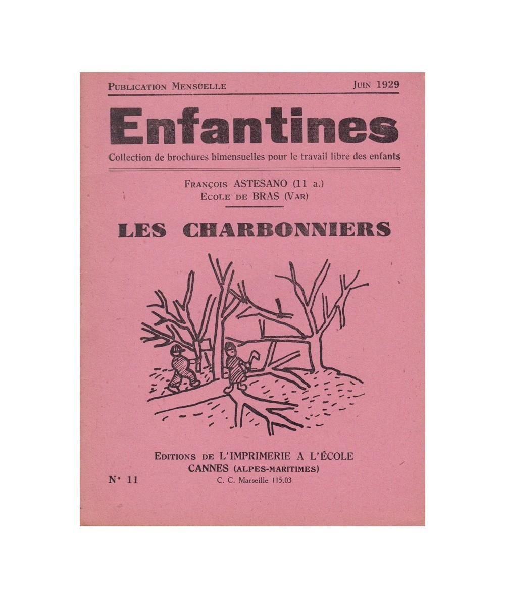 N° 11 - Les Charbonniers par François Astesano de l'Ecole de Bras