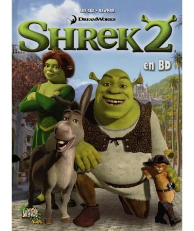 Shrek 2 en BD d'après le film de DreamWorks
