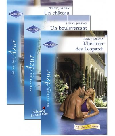 Trilogie Harlequin Azur : La saga des Leopardi par Penny Jordan