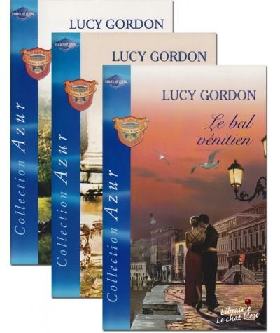 Trilogie Harlequin Azur : Les Comtes Calvani par Lucy Gordon