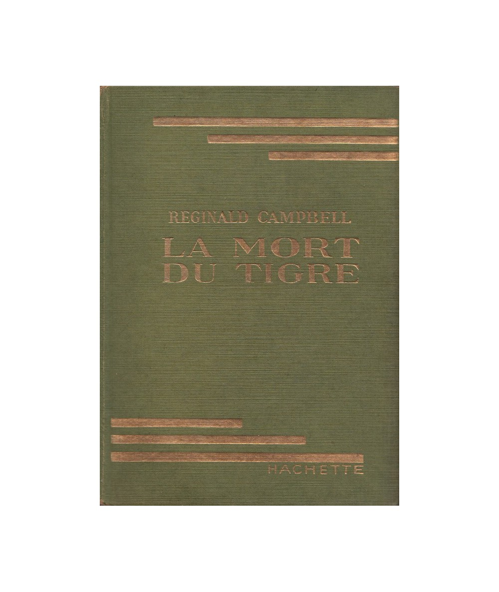La mort du tigre par Reginald Campbell