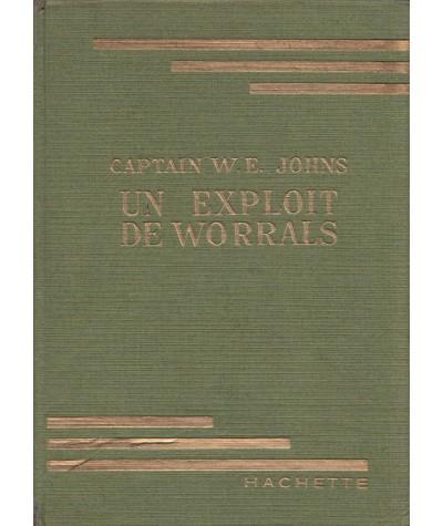 Bibliothèque Verte - Un exploit de Worrals par Captain W.E. Johns