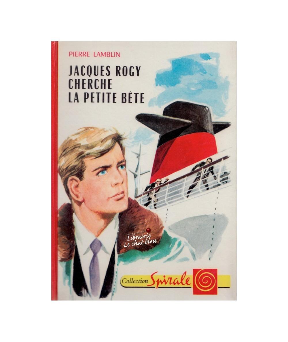 N° 382 - Jacques Rogy cherche la petite bête (Pierre Lamblin)