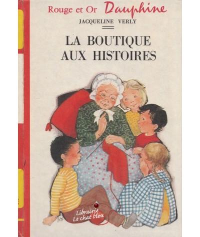 Rouge et Or Dauphine N° 4.321 - La boutique aux histoires par Jacqueline Verly