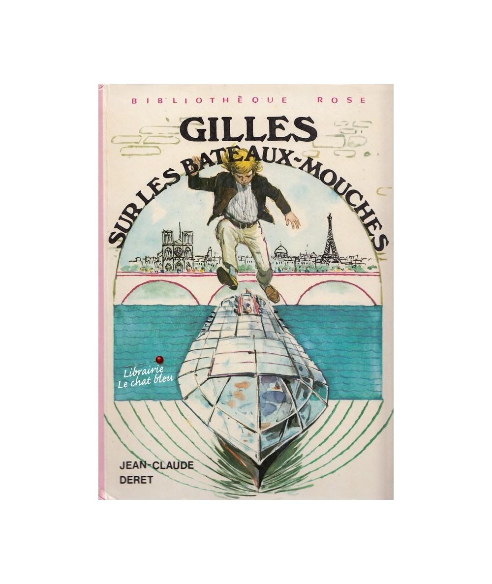 Gilles sur les bateaux-mouches par Jean-Claude Deret