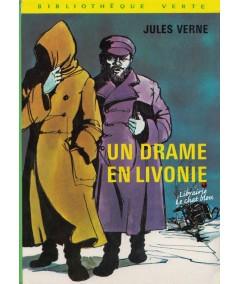 Un drame en Livonie de Jules Verne - Bibliothèque Verte