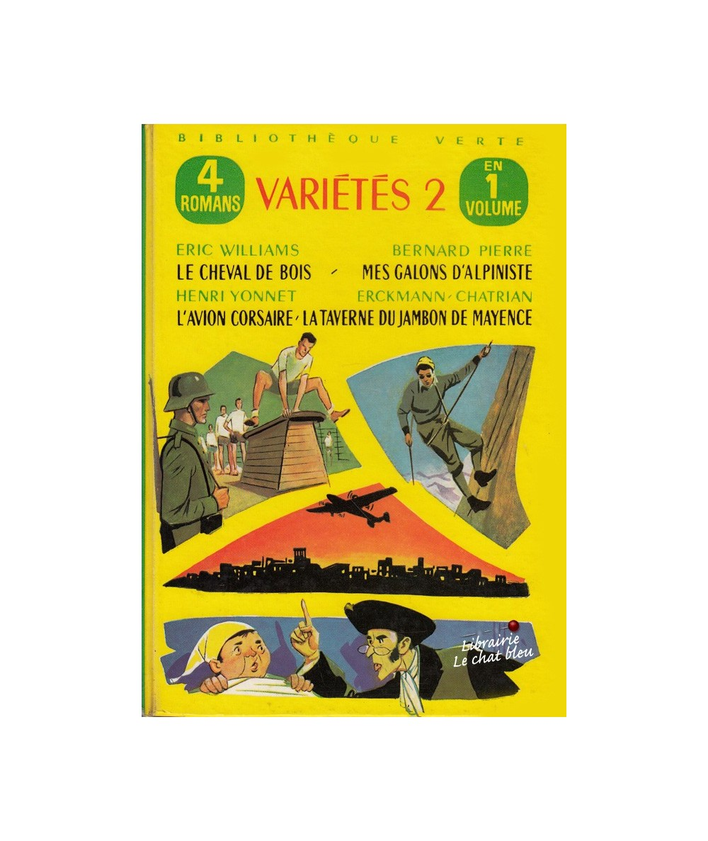 Variétés 2 : Le cheval de bois - Mes galons d'alpiniste - L'avion corsaire - Erckmann-Chatrian