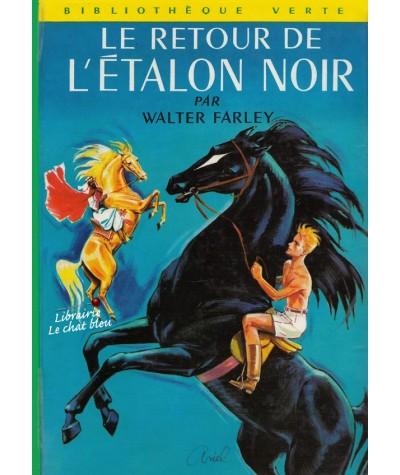 Bibliothèque Verte N° 290 - Le retour de L'Étalon noir par Walter Farley