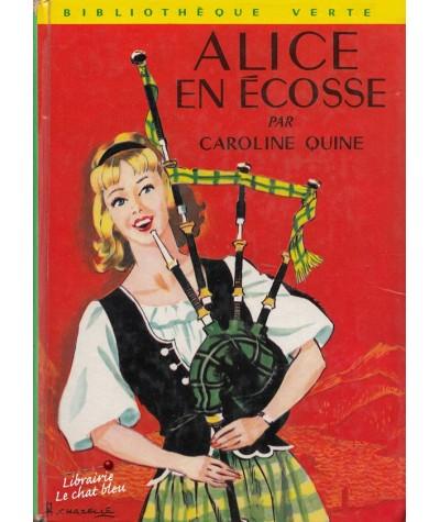 Alice en Écosse (Caroline Quine) - Bibliothèque Verte N° 409
