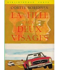 La fille aux deux visages (Odette Sorensen)   Bibliothèque Verte N° 439