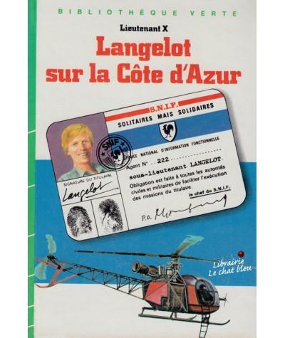 Langelot sur la Côte d'Azur (Lieutenant X) - Bibliothèque Verte