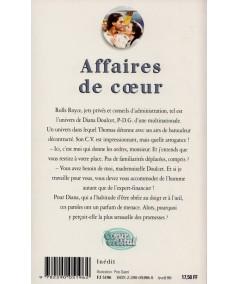 Affaires de coeur (Carole Dean) - Coeur Cristal N° 5196