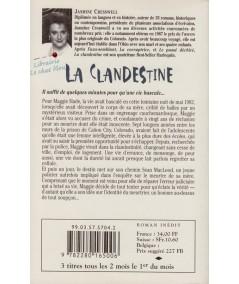 La clandestine (Jasmine Cresswell) - Best Sellers Harlequin N° 92