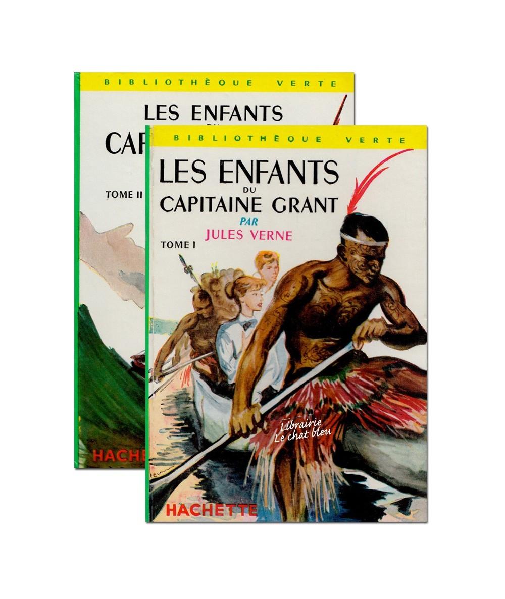 N° 139 et 140 - Les enfants du Capitaine Grant par Jules Verne