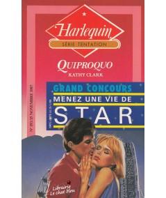Quiproquo (Kathy Clark) - Livre Harlequin Tentation N° 193