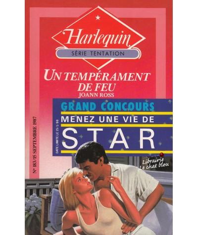 Un tempérament de feu (JoAnn Ross) - Harlequin Tentation N° 183
