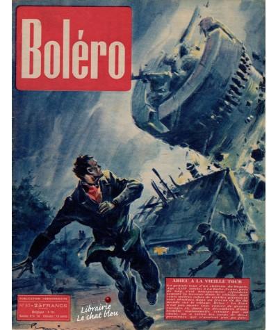 Revue Boléro N° 65 paru en 1951 - Adieu à la vieille Tour